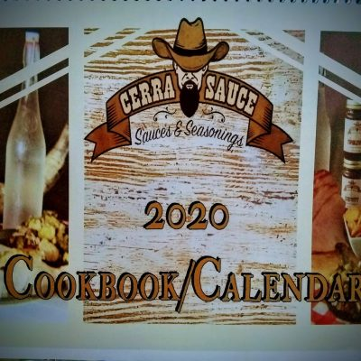 2020 Cookbook Calendar