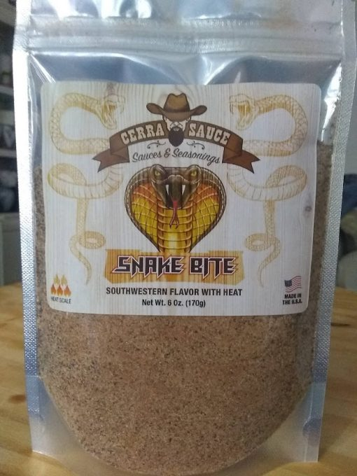 Snake Bite Seasoning