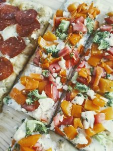 Personal Pizza: Veggie Ranch