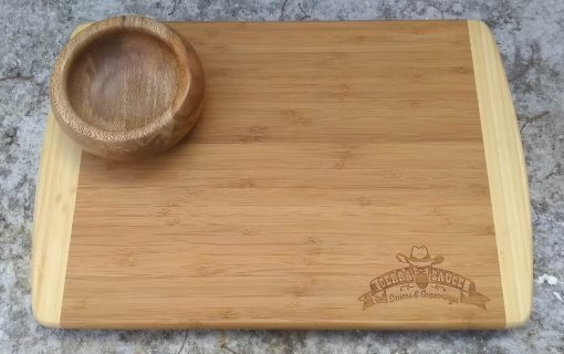 Handcrafted Cutting Board and Bowl